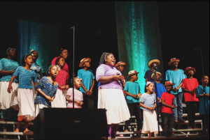 Haitian children's choir