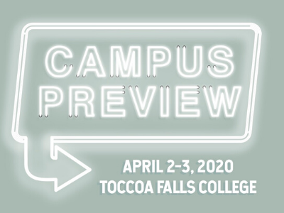 Campus Preview April 2-3, 2020